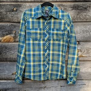 The North Face Flannel Plaid Button Front Shirt